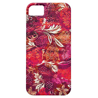Pink Fabric Patterned iPhone4 Case Case For The iPhone 5
