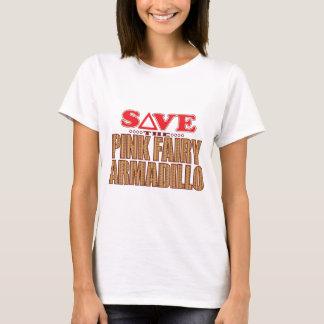 Pink Fairy Armadillo Save T-Shirt