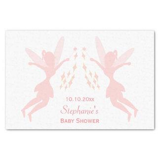 Pink Fairy Baby Shower Tissue Paper