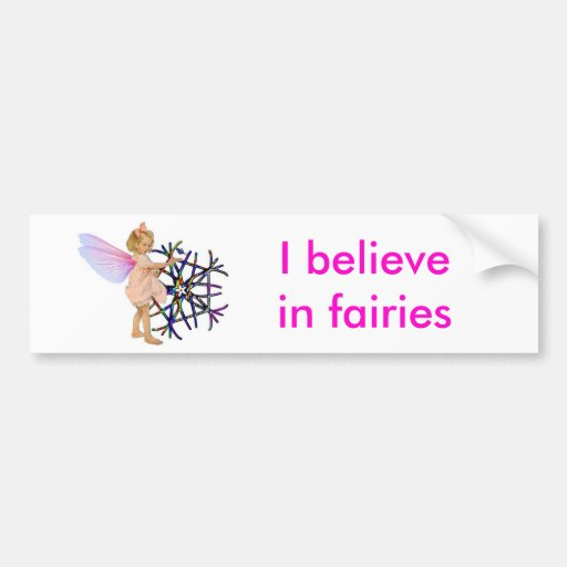 Pink Fairy Bumper Stickers