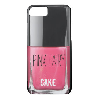 PINK FAIRY CAKE NAIL POLISH iPhone 7 CASE