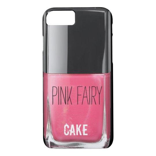 PINK FAIRY CAKE NAIL POLISH iPhone 7 CASE