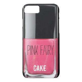 PINK FAIRY CAKE NAIL POLISH iPhone 8/7 CASE