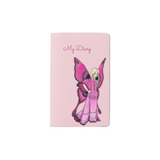 Pink Fairy customizable MOLESKINE® notebook cover