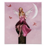 Pink fairy fantasy Poster