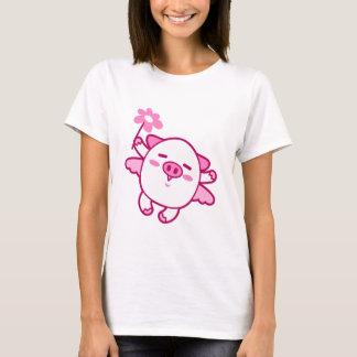 Pink Fairy Pig T-Shirt