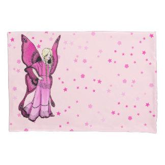 Pink Fairy Pillowcase, Standard Size Pillowcase