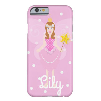 Pink Fairy Polka Dot Customisable IPhone 6/6S Case