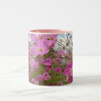 Pink Fancy 1 Two-Tone Coffee Mug