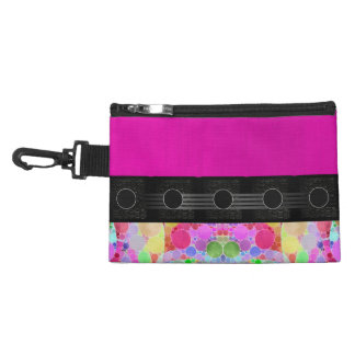 Pink Fancy Abstract Accessories Bags