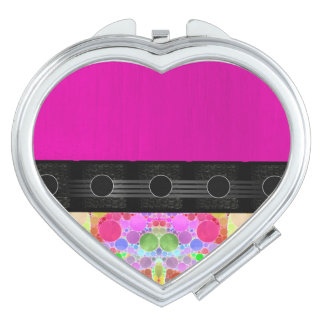 Pink Fancy Abstract Vanity Mirrors