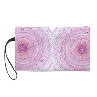 Pink Fancy Doily Bag Wristlet
