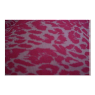 Pink Fantasy Leopard Stationery Design