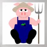 Pink Farmer Pig