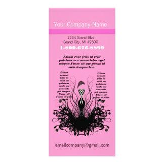 Pink Fashion Diva Rack Card