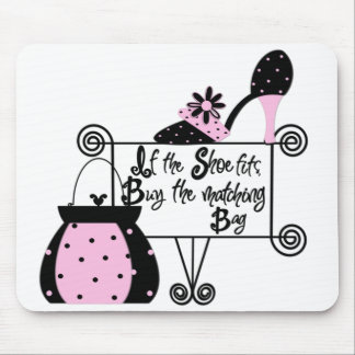 Pink Fashion Mousepad