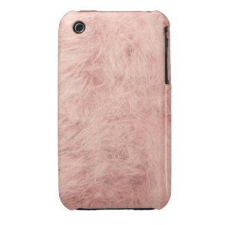 Pink feather iPhone 3 cover