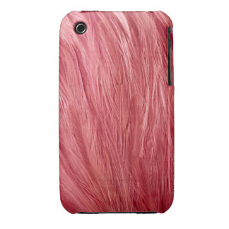 Pink Feathers iPhone 3 Case