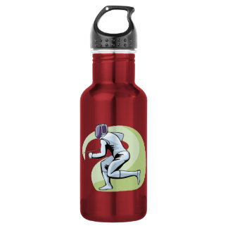 Pink Fencing 532 Ml Water Bottle