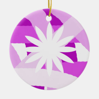 Pink Fest Flower Ornament