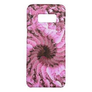 Pink Fibonacci Petals Phone Case