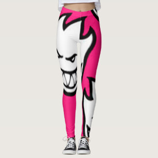 Pink Fire Leggings