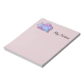 Pink Fish Notepad