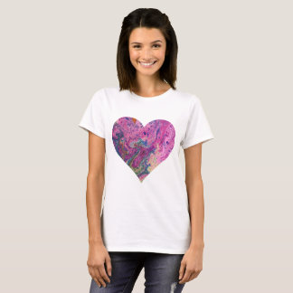 Pink Fizz Heart T-Shirt