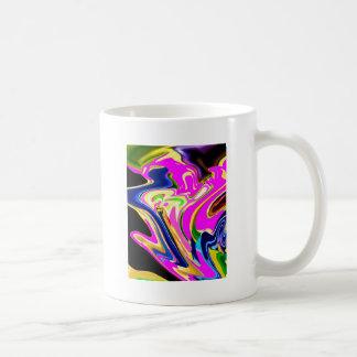 Pink Flair Waves : Happiness, Healing n Smiles Coffee Mugs
