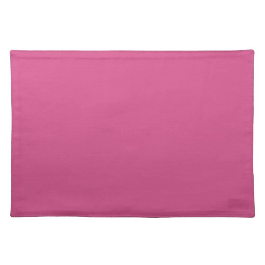 Pink Flambe. Elegant, Simple Fashion Solid Colour Placemat