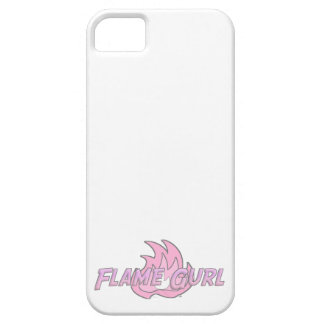 Pink Flame Gurl Logo iPhone 5 Case