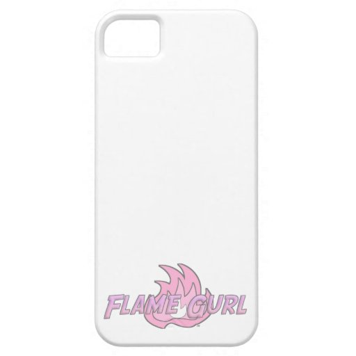 Pink Flame Gurl Logo Case For iPhone 5/5S