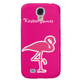 Pink Flamingo 3G/3GS Galaxy S4 Case
