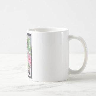 Pink Flamingo Bar & Grill Beach Drink Theme Coffee Mug