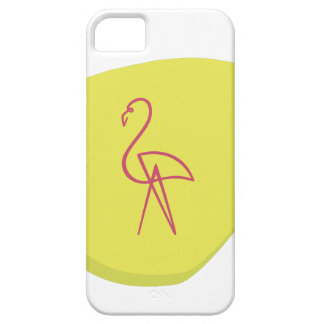 Pink Flamingo Barely There iPhone 5 Case