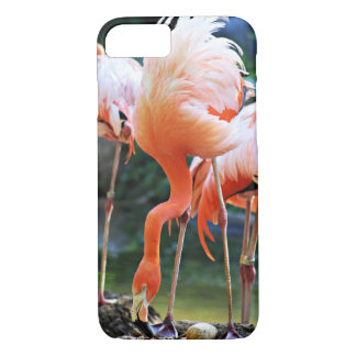Pink Flamingo Barely There iPhone 7 Case