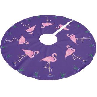 Pink Flamingo Brushed Polyester Tree Skirt