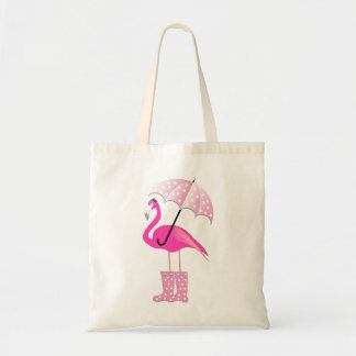 Pink Flamingo Budget Tote