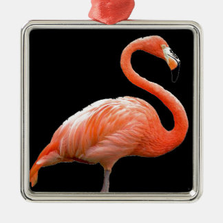 """Pink flamingo"" Christmas Ornament"