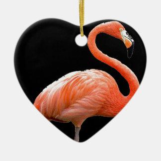 """Pink flamingo"" Christmas Ornament"