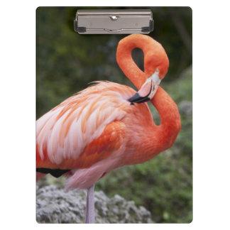 Pink Flamingo Clipboard