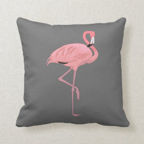 Pink Flamingo Cushion