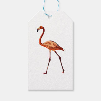 Pink Flamingo Custom Gift Tags