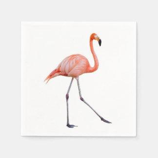 Pink Flamingo Disposable Serviette