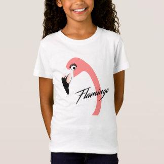 Pink Flamingo Fun Feathered Friends Kids T-Shirt