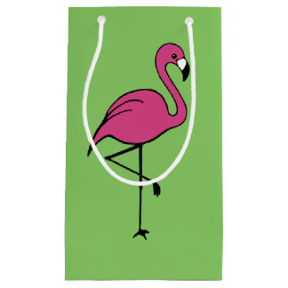 Pink Flamingo Gift Bag