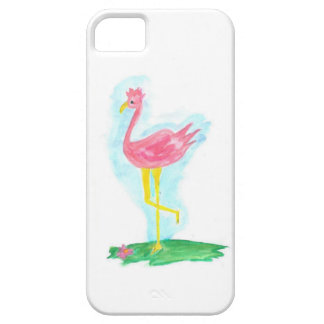 Pink Flamingo I Phone Case