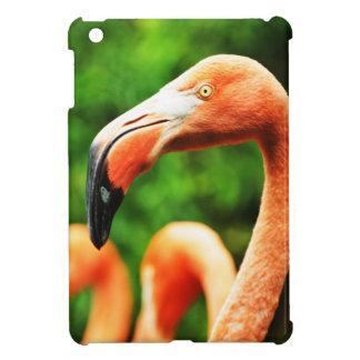 Pink flamingo iPad mini cases