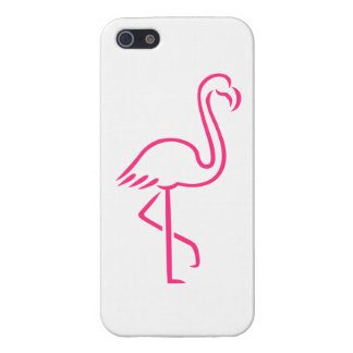 Pink flamingo iPhone 5/5S covers