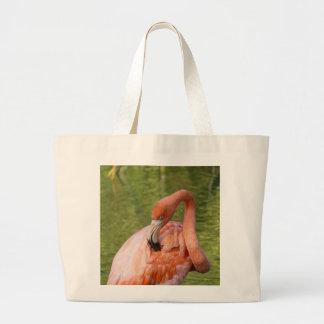 Pink Flamingo Jumbo Tote Bag